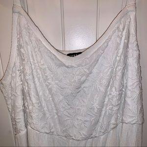 White Long Torrid Dress